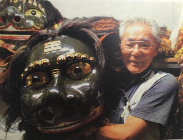 仲西正勝さん講座 元勢理客獅子舞保存会会長の写真1