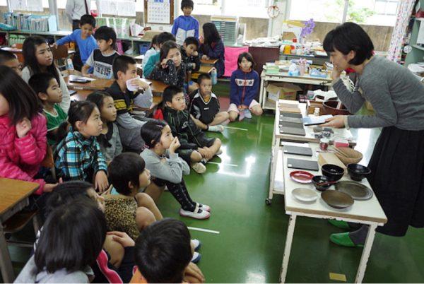 募集/漆の出前授業ボランティア及び授業実施校の写真3