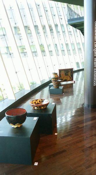 行ってきました「琉球の雅 漆の〜いま・むかし〜」の写真4