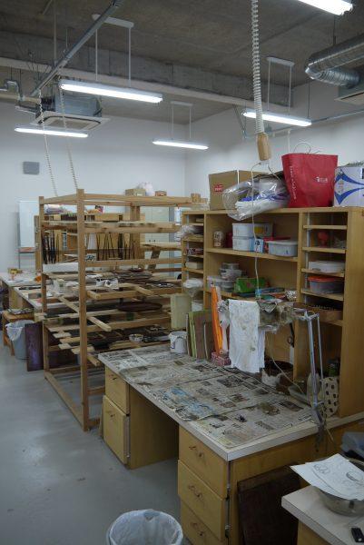 卒業制作佳境です!    沖縄県立芸大4年生レポの写真2
