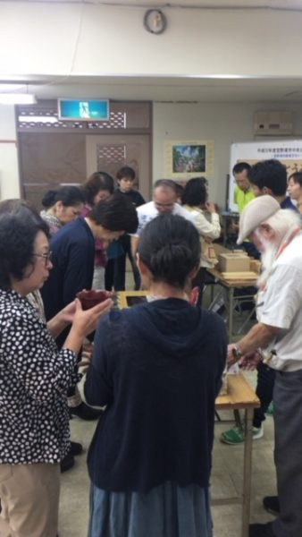 琉球王朝とうるしの世界/沈金&テーブル講座の写真2