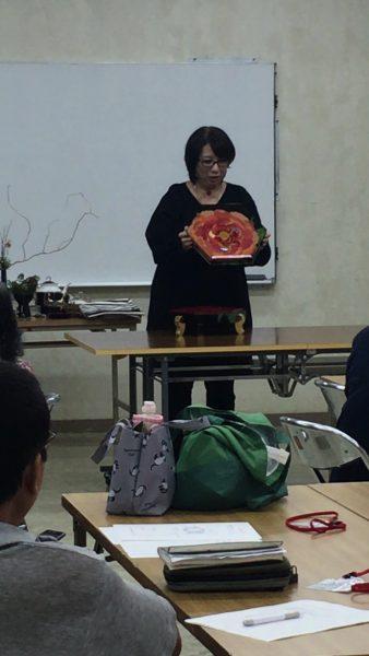 琉球王朝とうるしの世界/沈金&テーブル講座の写真6