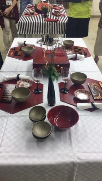 琉球王朝とうるしの世界/沈金&テーブル講座の写真8