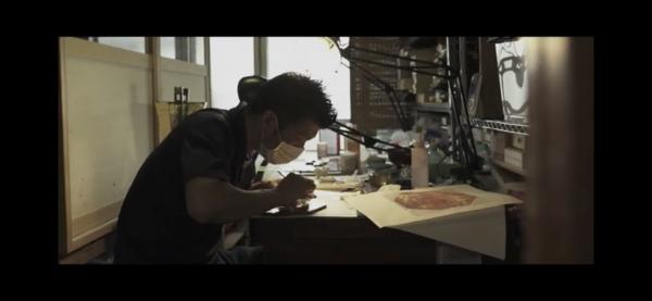 りゅうぎん琉球漆芸技術伝承支援事業/作業風景イメージPVの写真4